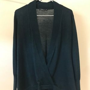 Faux Wrap Sweater NEW!